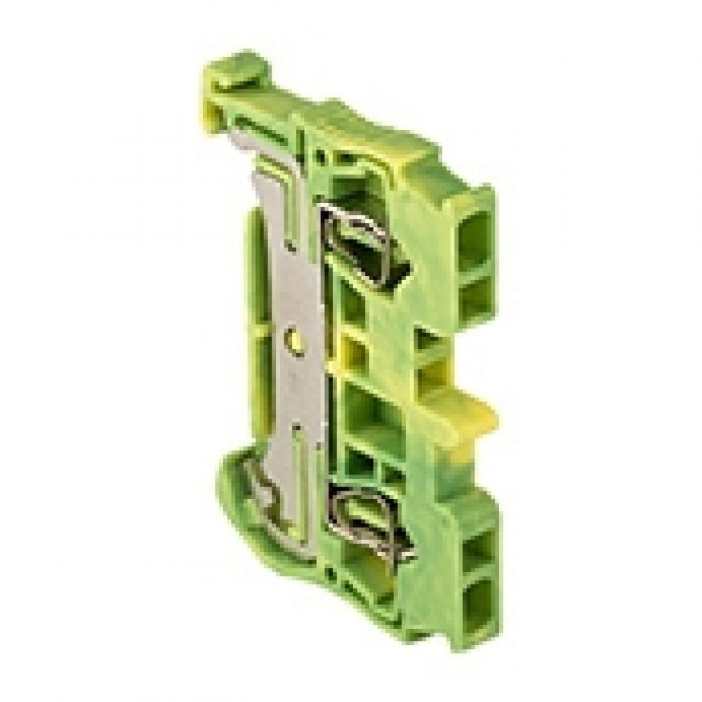 Клеммная самозажимная колодка ekf jxb-st-2.5, земля proxima plc-jxb-st-2.5-pen