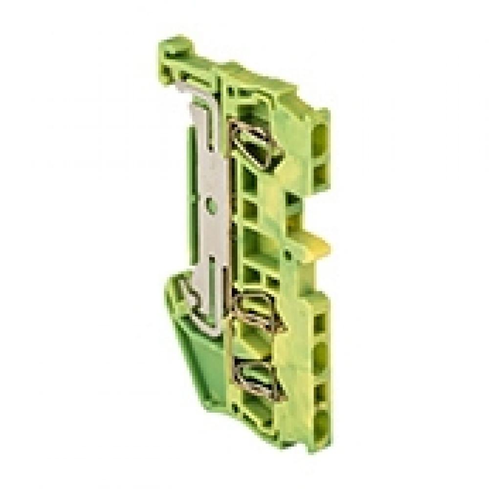 Клеммная самозажимная колодка ekf jxb-st-1.5, 3 вывода земля proxima plc-jxb-st-1.5-3-pen