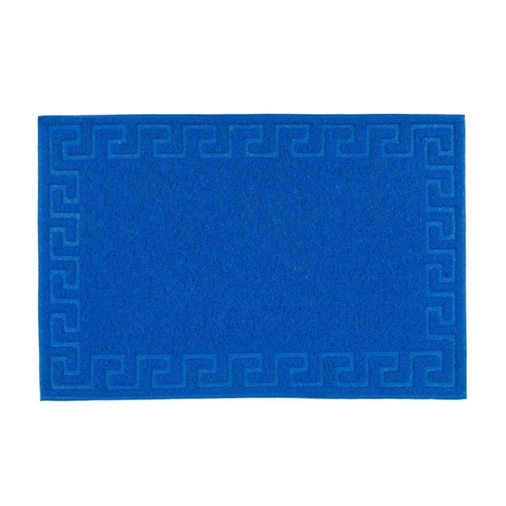 Купить Коврик sunstep spongy меандр 40х60 см, синий 38-306