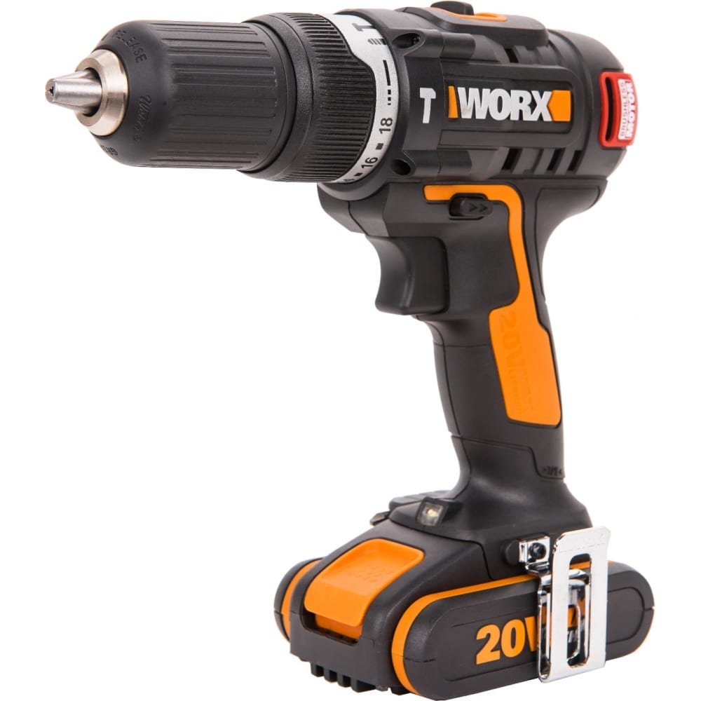 Купить Ударная аккумуляторная дрель-шуруповерт worx wx367.1