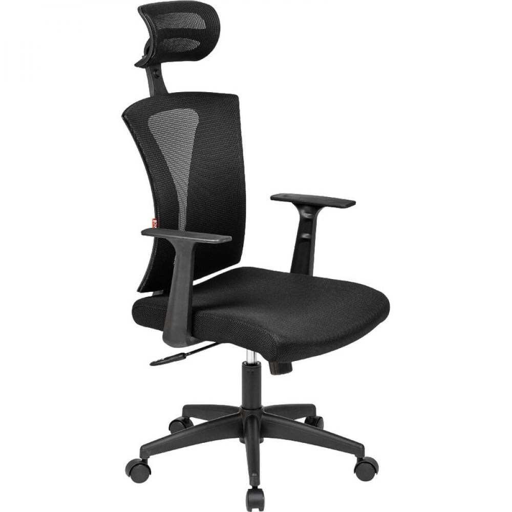 Купить Кресло easy chair bncmechair-649 ttw сетка, ткань tw черный, пластик черный 716343