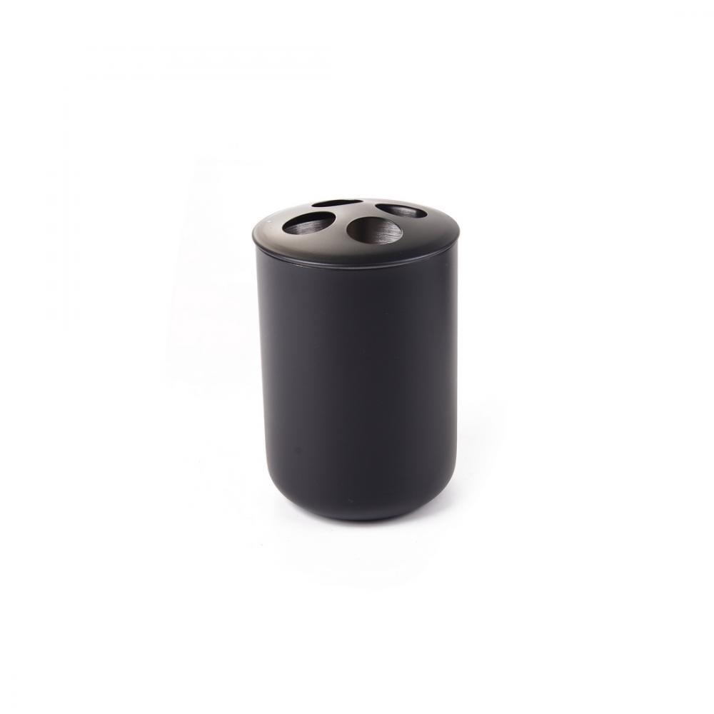 Купить Подставка для зубных щеток raindrops черный металл черный b1034p-3