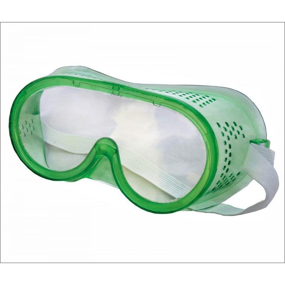Купить Защитные закрытые очки on new, прямая вентиляция, 23-01-004