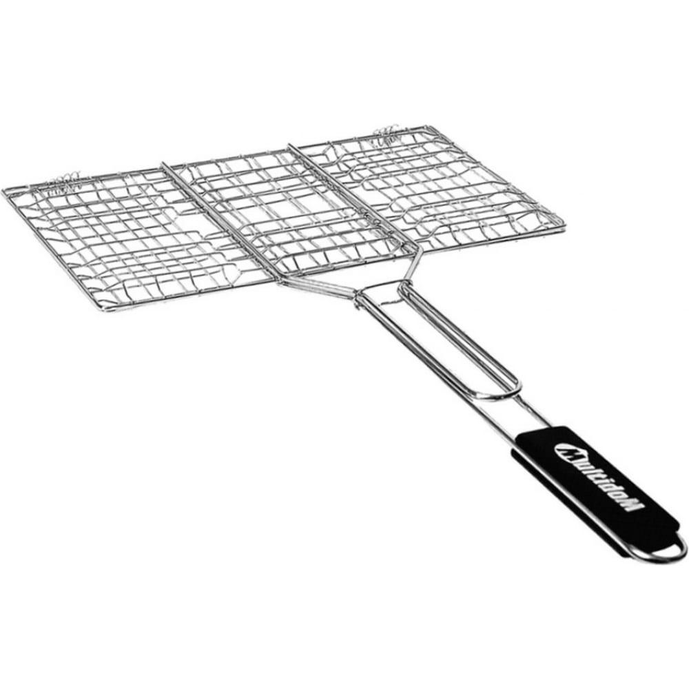 Решетка для барбекю мультидом лайт 34x22x1.5см an84-64