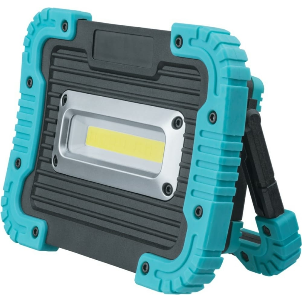 Фонарь navigator npt-sp22-accu прожектор 10вт cob led, 700лм, аккумулятор 3,7в 3ач. 14268