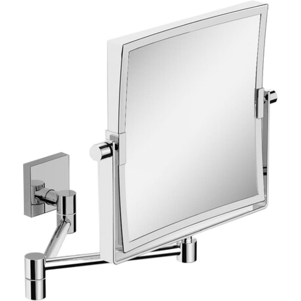 Картинка для Косметическое зеркало langberger квадратное, поворотное, увеличительное 72485