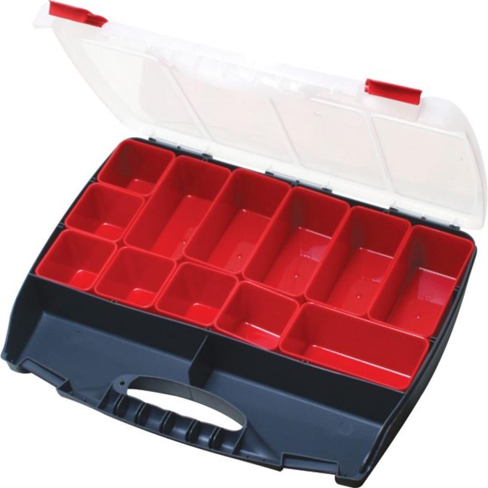 Купить Ящик для инструментов/деталей proskit sb-4536b пластиковый 450х355х75мм с00037369