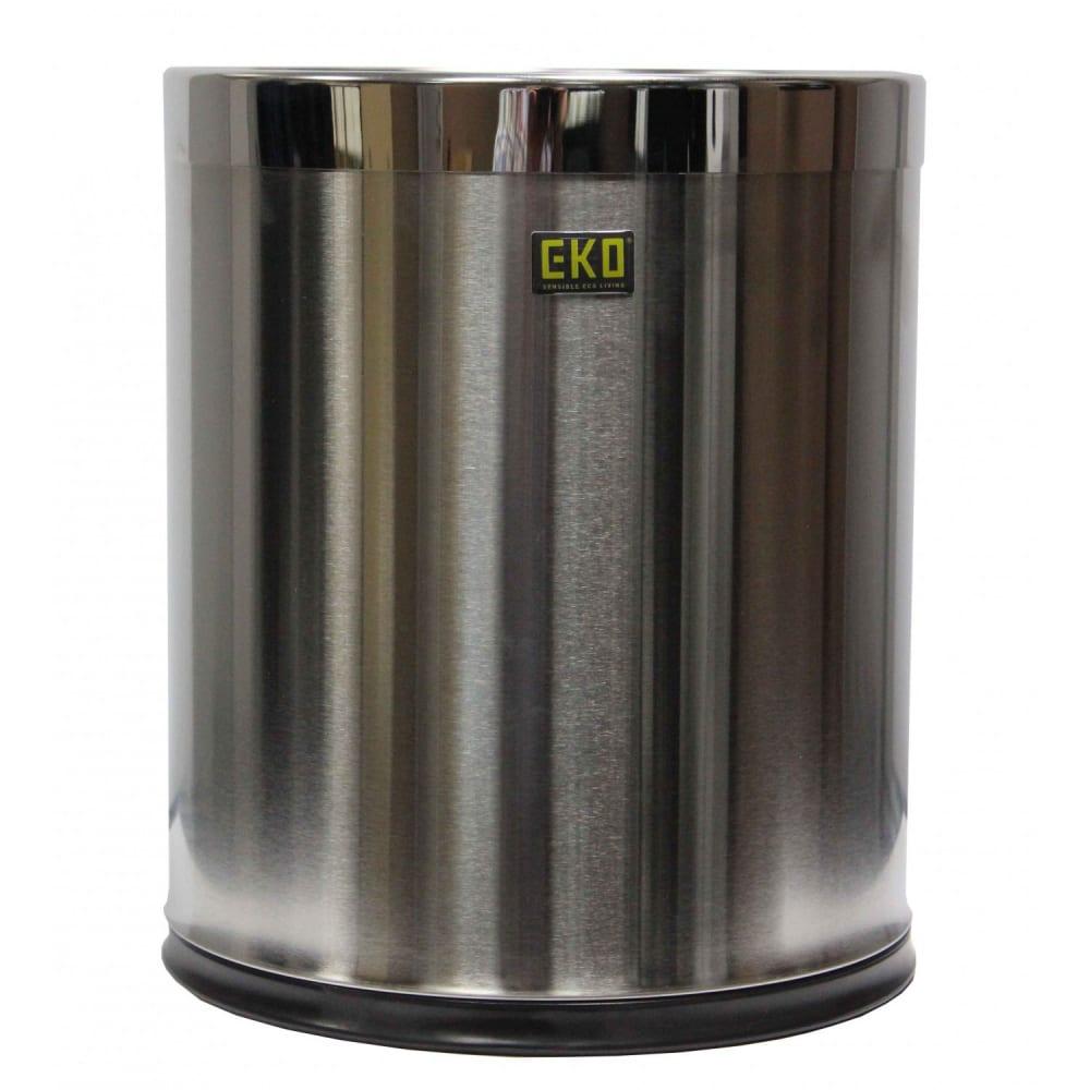 Купить Корзина для бумаги eko lux, 9 литров, матовая wb09lm