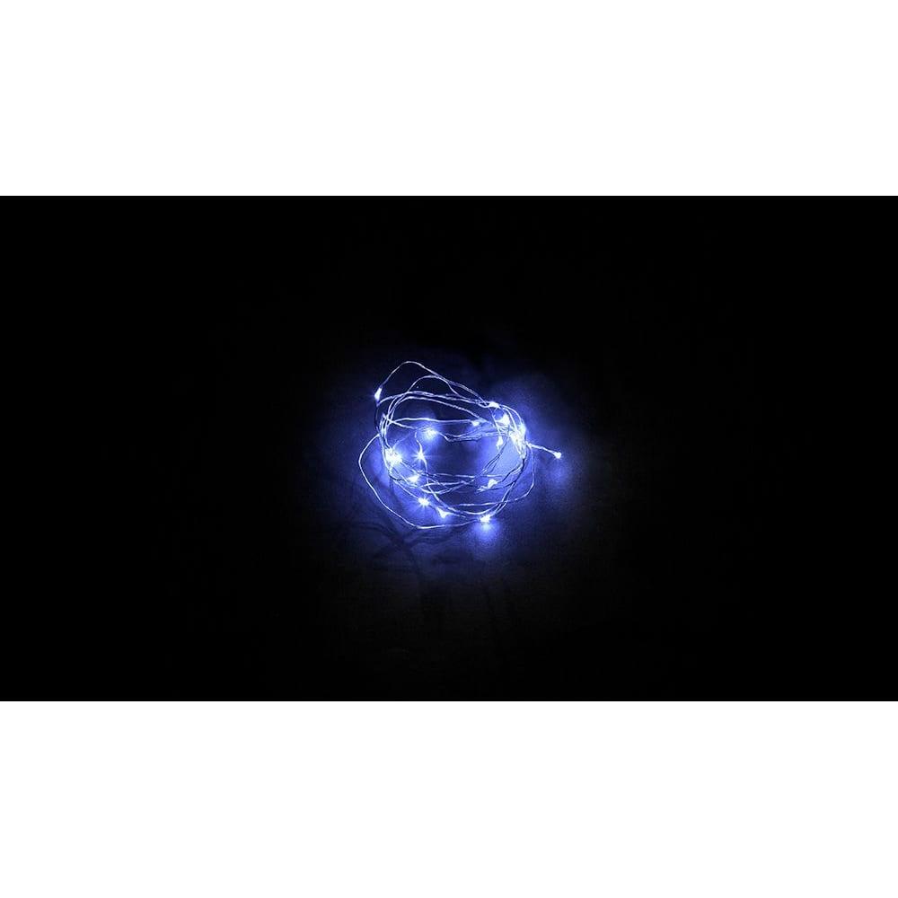 Купить Гирлянда feron cl57020 led синий, батарейки 2 аа, ip 20, шнур 0, 5м 32367