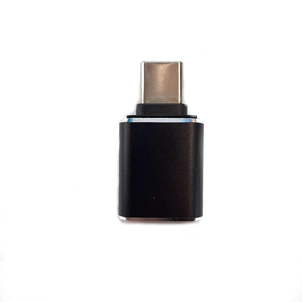 Купить Переходник usb type c на usb 3.0 m-af gcr черный viv52i299
