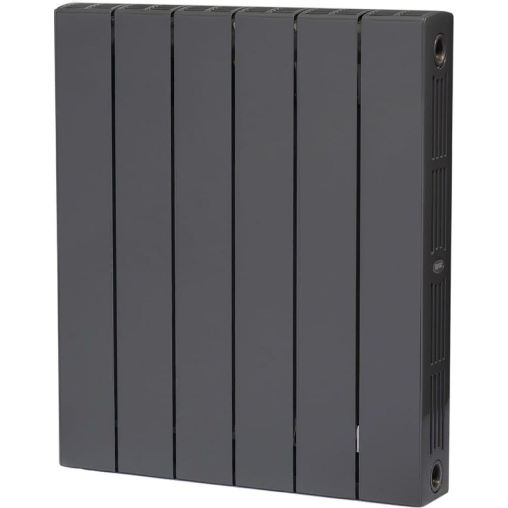 Купить Биметаллический радиатор rifar 53 supremo 500-6, ду 3/4, титан r s50063/47012