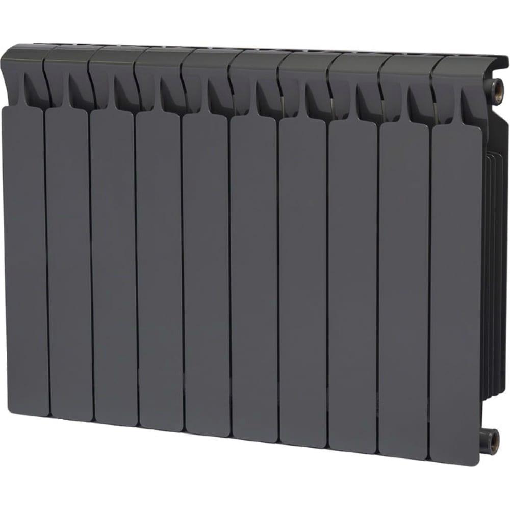 Купить Биметаллический радиатор rifar 07 monolit 500-10, титан rm500103/47012