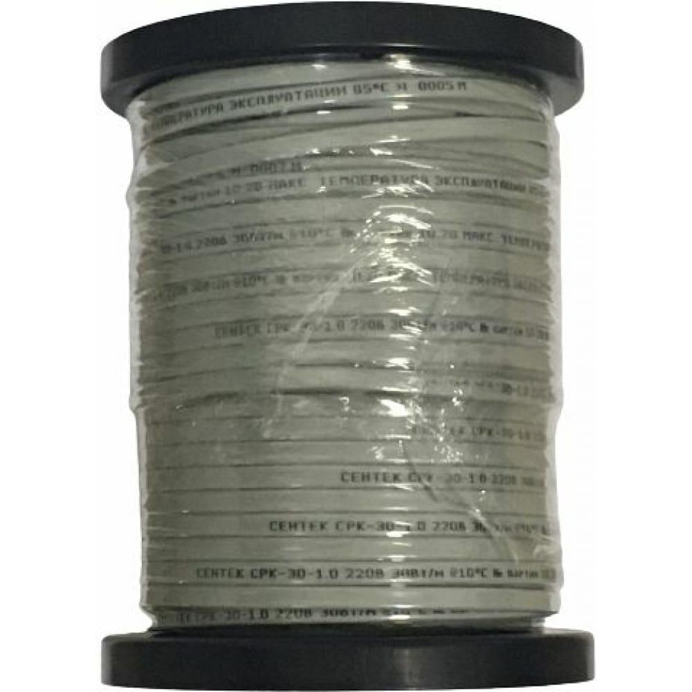 Купить Нагревательный саморегулирующийся кабель sentek срк-30-1 30вт/м, сечение 1 мм кв, катушка 100м 04-00001891
