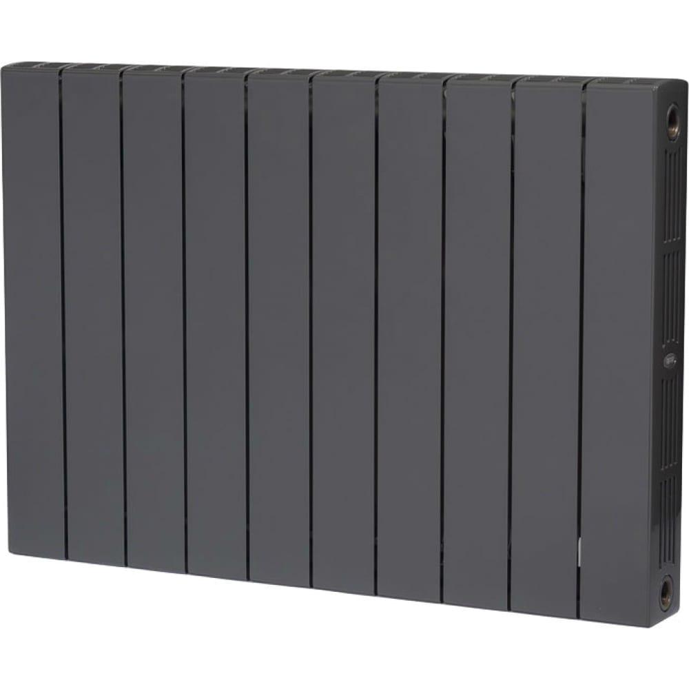 Купить Биметаллический радиатор rifar 57 supremo 500-10, ду 3/4, титан r s500103/47012