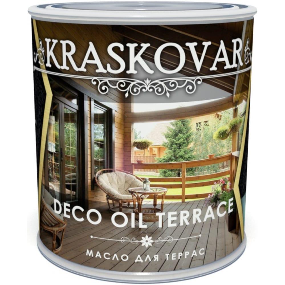 Купить Масло для террас kraskovar deco oil terrace лаванда, 0.75 л 1281