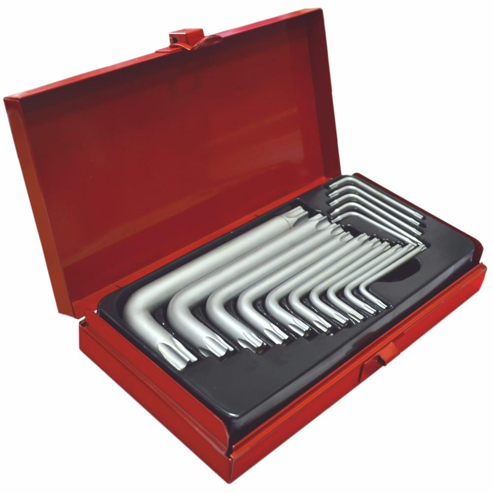 Купить Набор ключей custor torx tamper resistant 15 предметов sp-7732