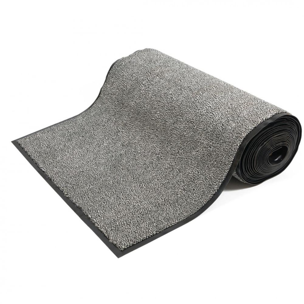 Купить Коврик-дорожка sunstep влаговпитывающий, professional 0, 9х12 м, серый 36-301