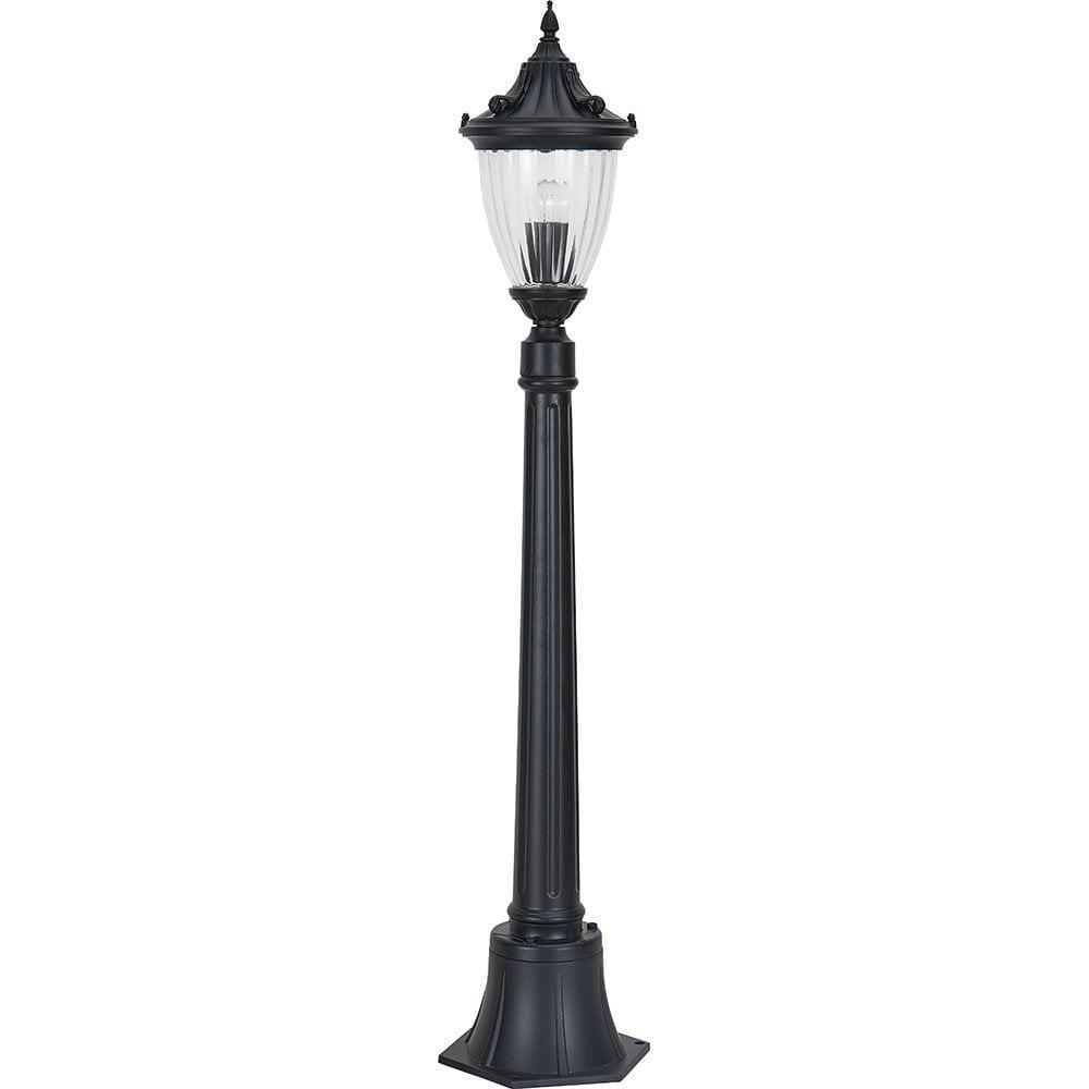 Купить Садово-парковый светильник feron pl596 60w, 230v, ip44 черный 41167