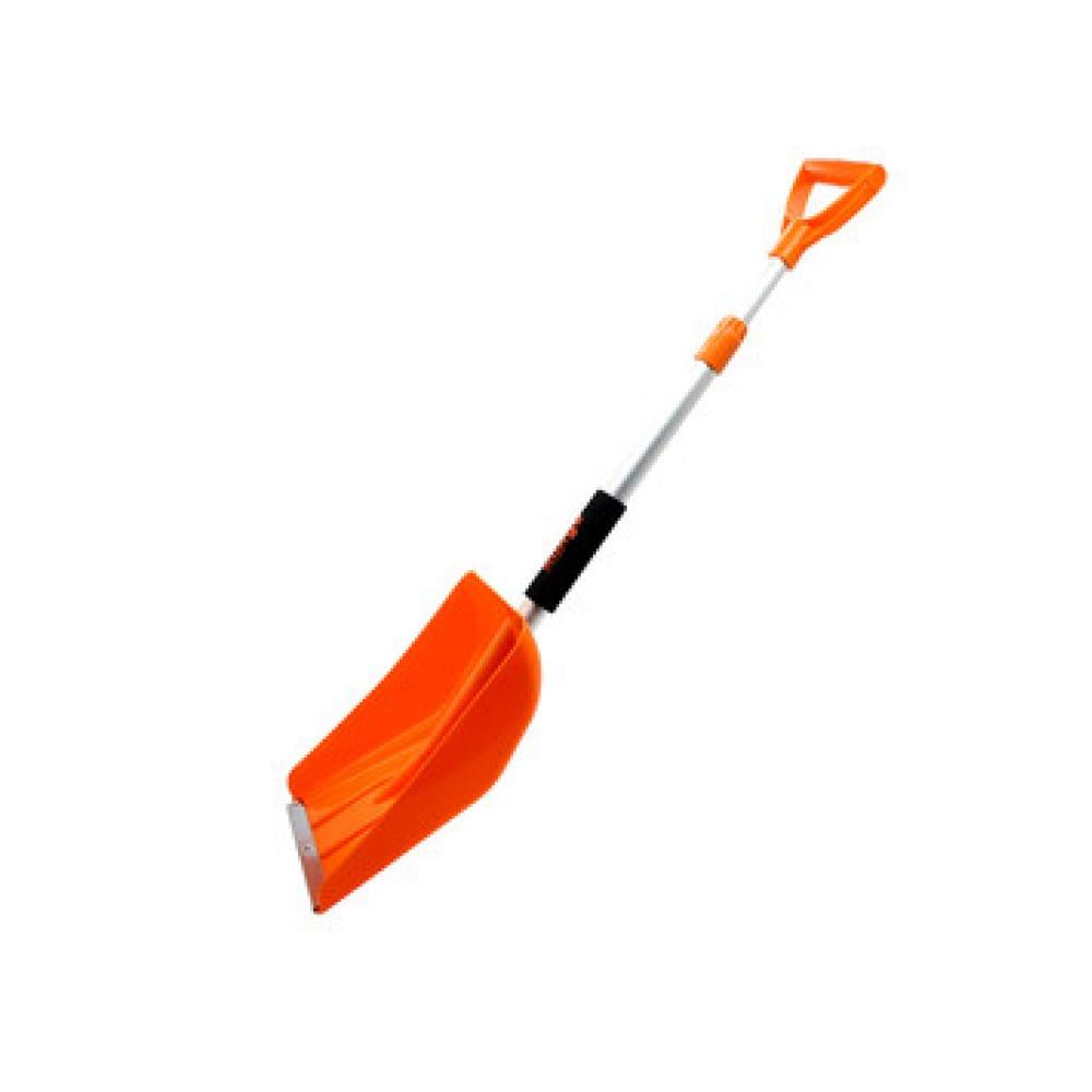 Лопата для снега amigo телескопическая 77080