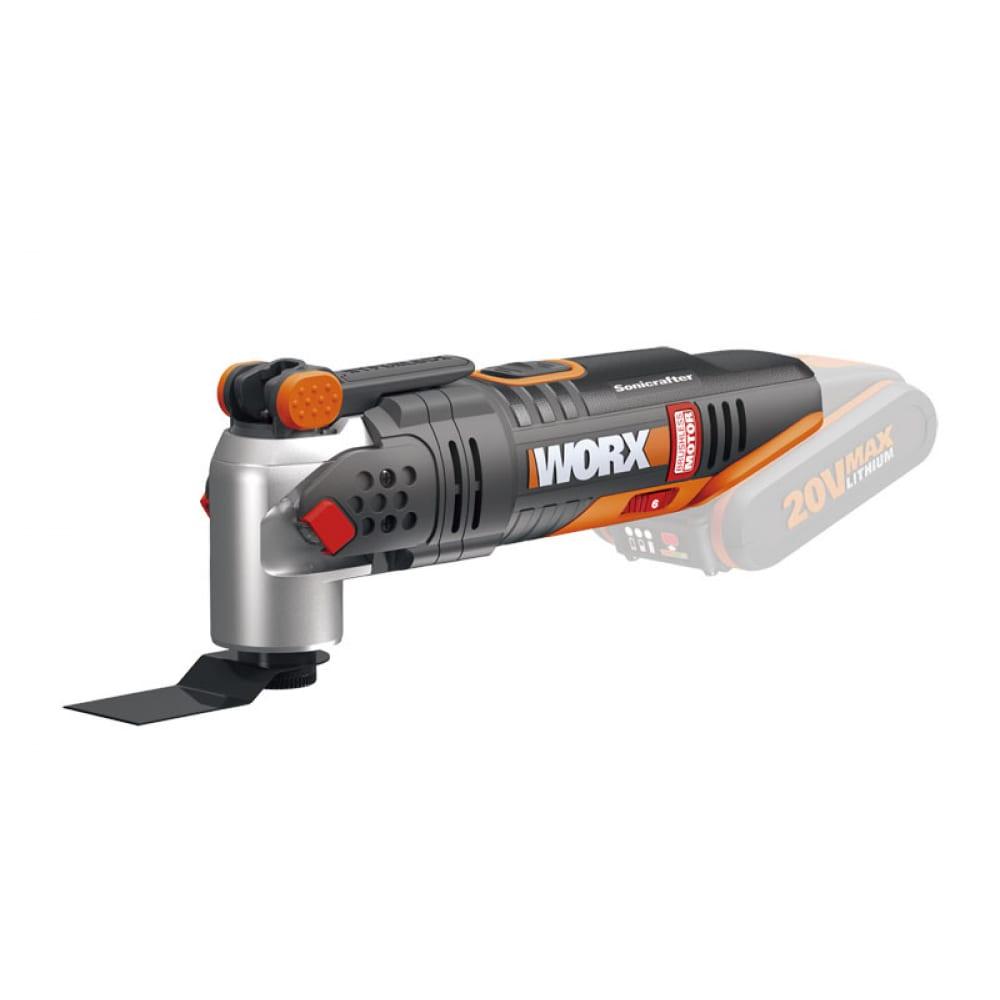 Аккумуляторный бесщеточный реноватор worx wx693.9