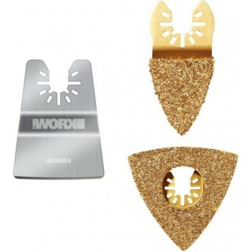 Купить Набор насадок для удаления краски для реноватора worx wa5098