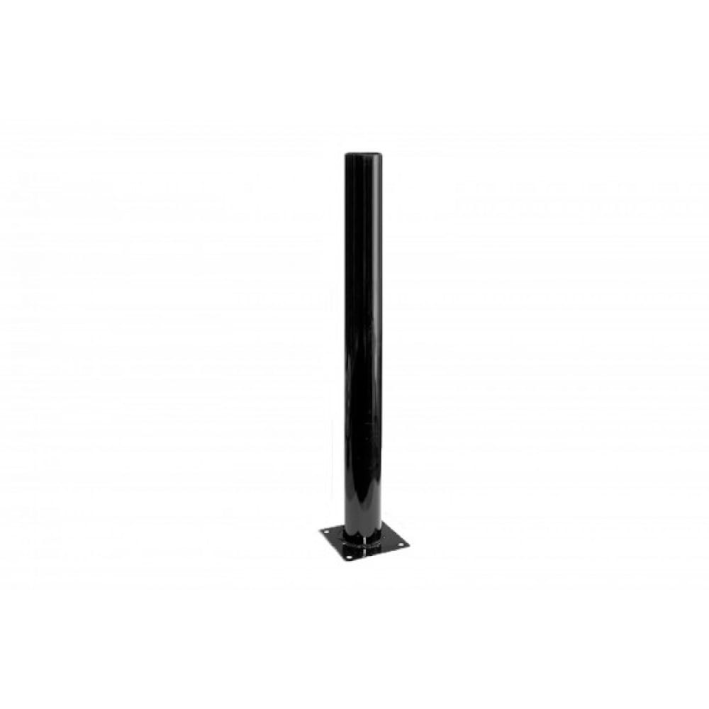 Металлическая опора эра, 0, 6 м опора стальная черная эмаль для светильников нту н600mm 85 б0048090