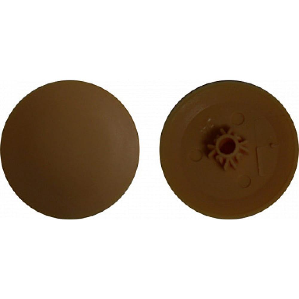 Заглушка под саморез креп-комп №2, темно-коричневая ph2/pz2 1000шт зпс2 тем.корич