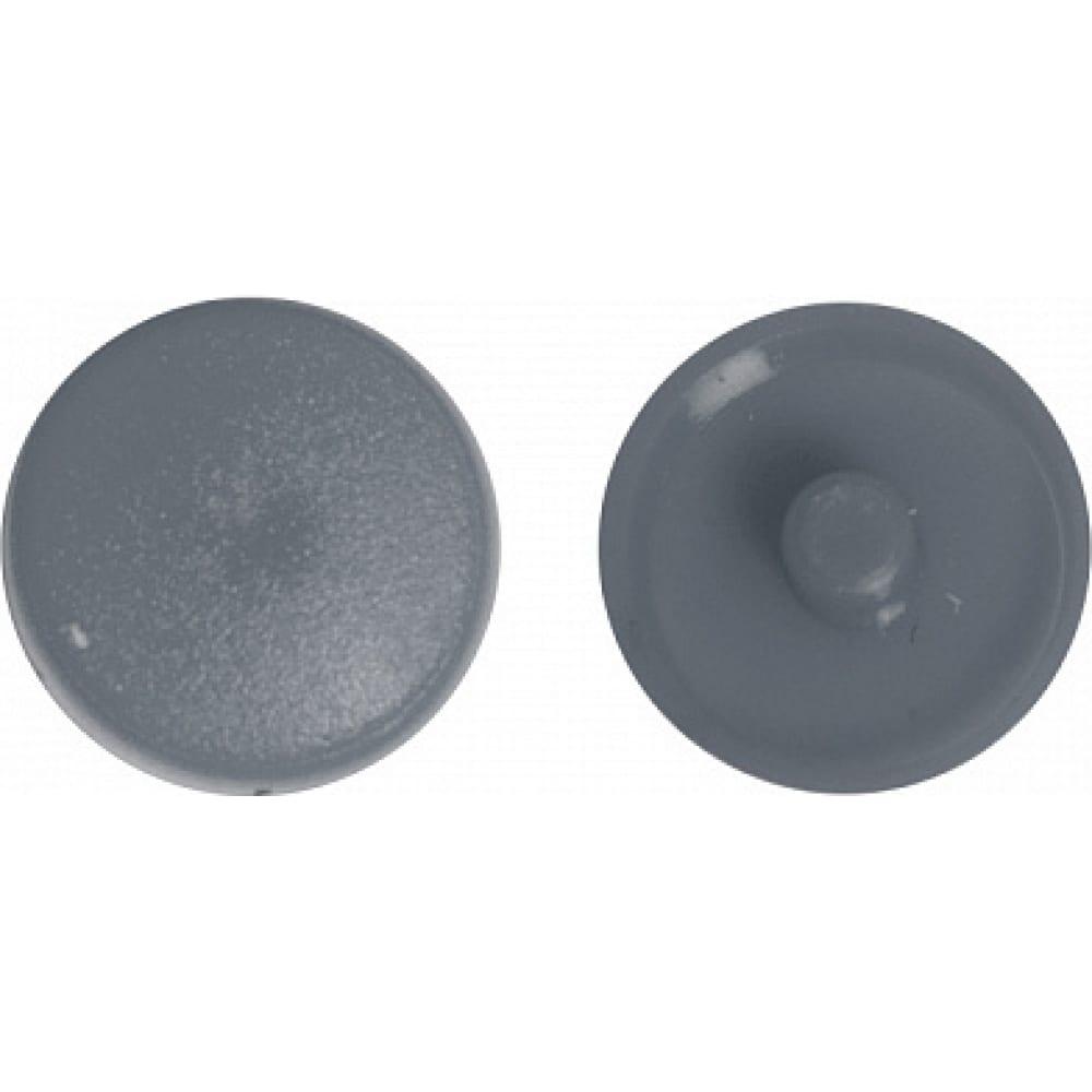 Заглушка под рамник креп-комп темно-серый 1000шт зпр тем.серый