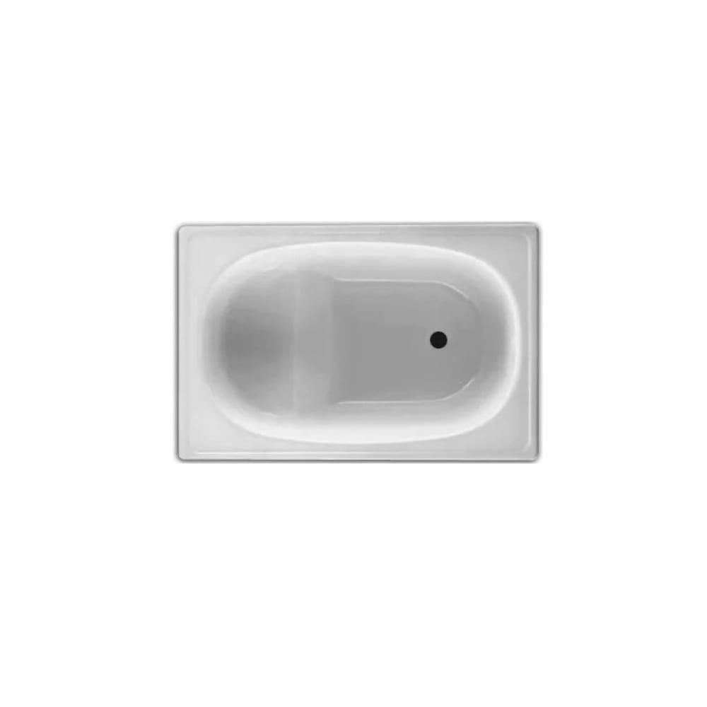 Ванна blb europa стальная, 105x70 см, сидячая b05e 00022414