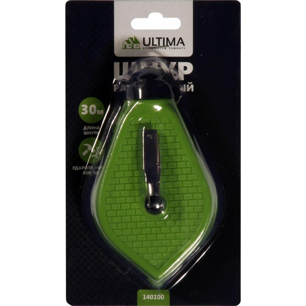Купить Разметочный отбивочный шнур ultima 30 м 140100