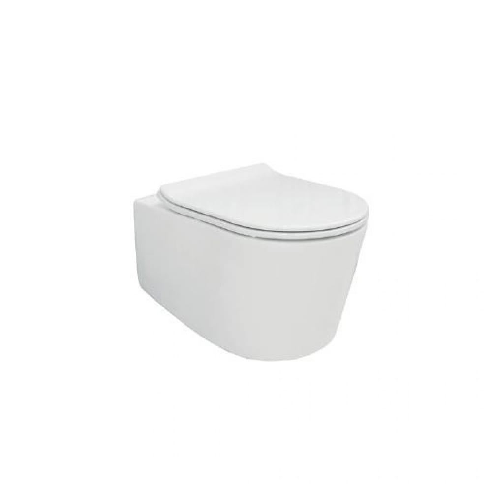 Купить Подвесной унитаз creo ceramique rennes 550x365x370, безободковый, микролифт re1100r+re1001t 00034081