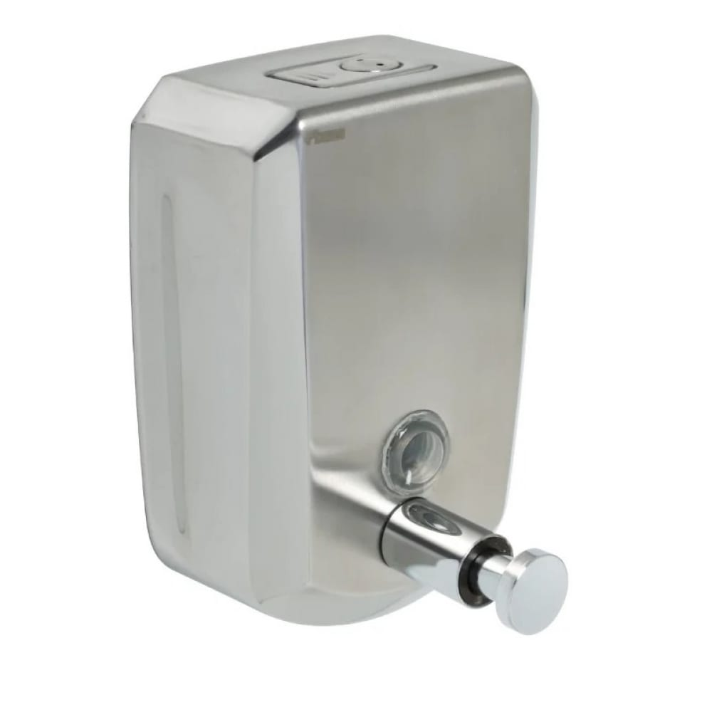 Дозатор для жидкого мыла fixsen fx-31012 hotel настенный, 500 мл., металл, хром 00038325