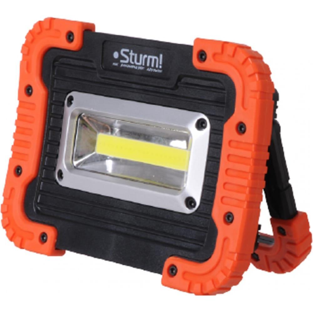 Фонарь-прожектор sturm cob, 2 режима 4051-03-600