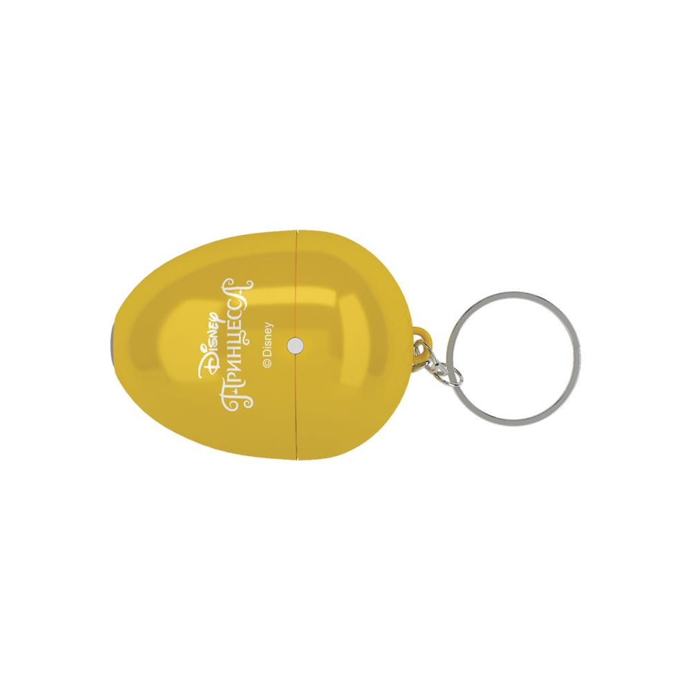 Мультфонарик-брелок фотон кр-0905-1, disney принцесса, желтый 23308