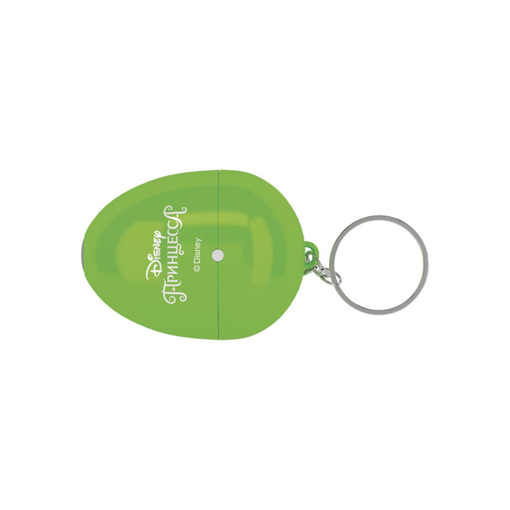 Мультфонарик-брелок фотон кр-0905-1, disney принцесса, зеленый 23310