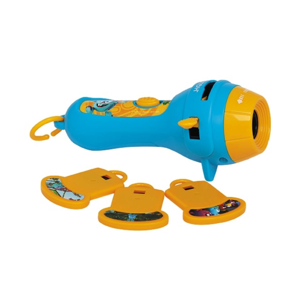 Мультфонарик с кассетами фотон кр-0908-1, смешарики, легенда о золотом драконе, крош 22810
