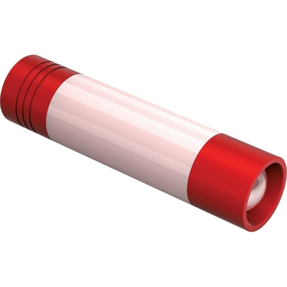 Туристический светодиодный фонарь фотон msc-300, 1хlr6 в комплекте, красный 23835