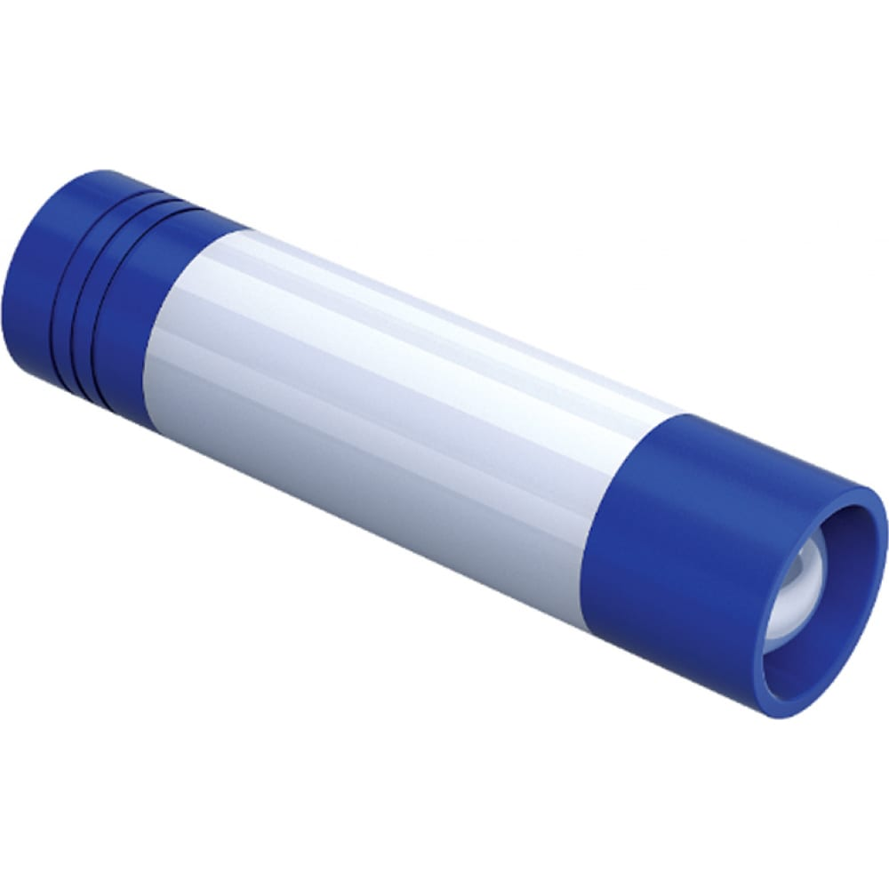 Туристический светодиодный фонарь фотон msc-300, 1хlr6 в комплекте, синий 23834
