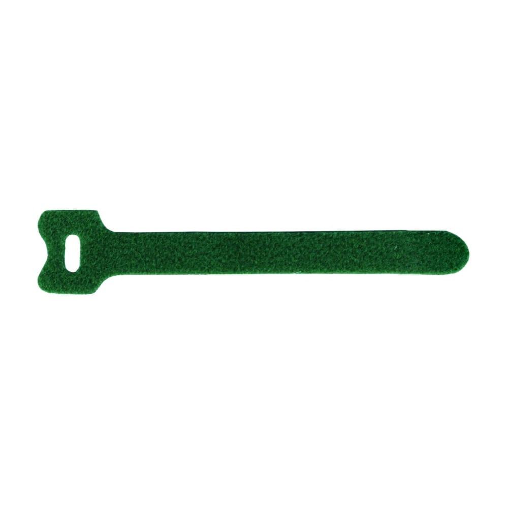 Хомут-липучка lanmaster 135мм, 20 шт., зеленый lan-vcm135-gn