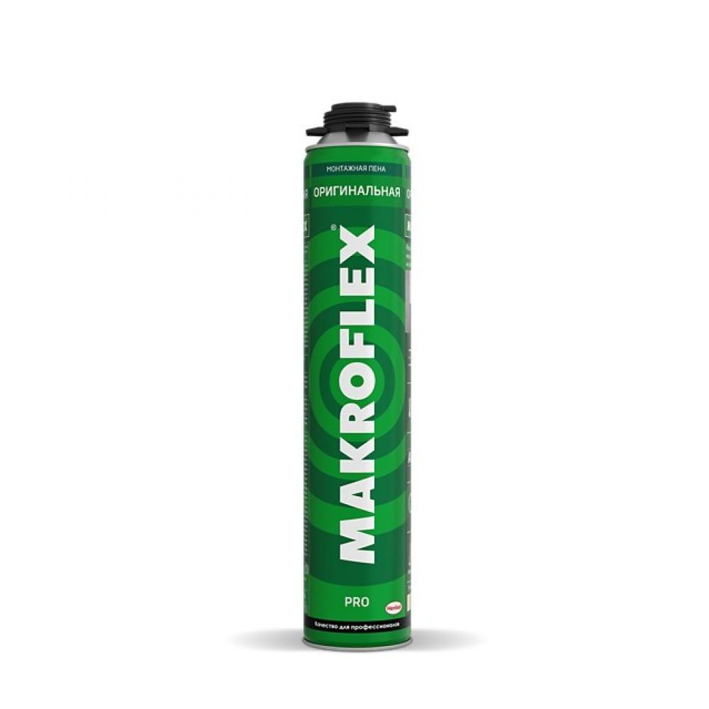 Монтажная пена makroflex оригинальная про, 750мл б0048517