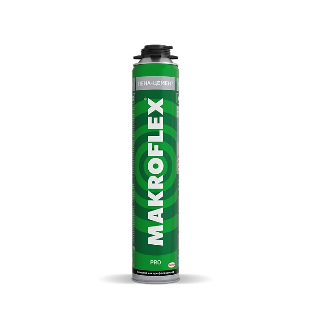 Строительный профессиональный пена-цемент makroflex 850мл б0048559