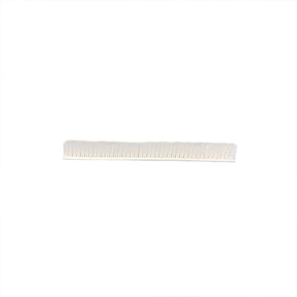 Щеточный уплотнитель mebax 7х6 серебро, в пакете, 6м 00-00001427