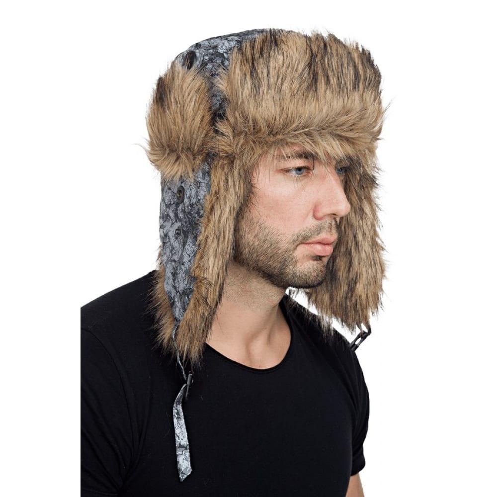 Зимняя шапка sobol, камни серые, шап 567/57