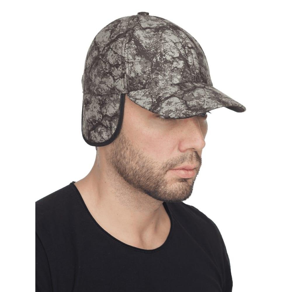 Демисезонная кепка sobol локкер, олива камни, шап 570/59