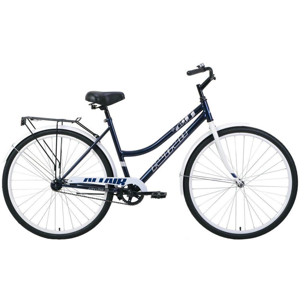 Велосипед altair 28 low темно синий/белый rbkt1yn81007