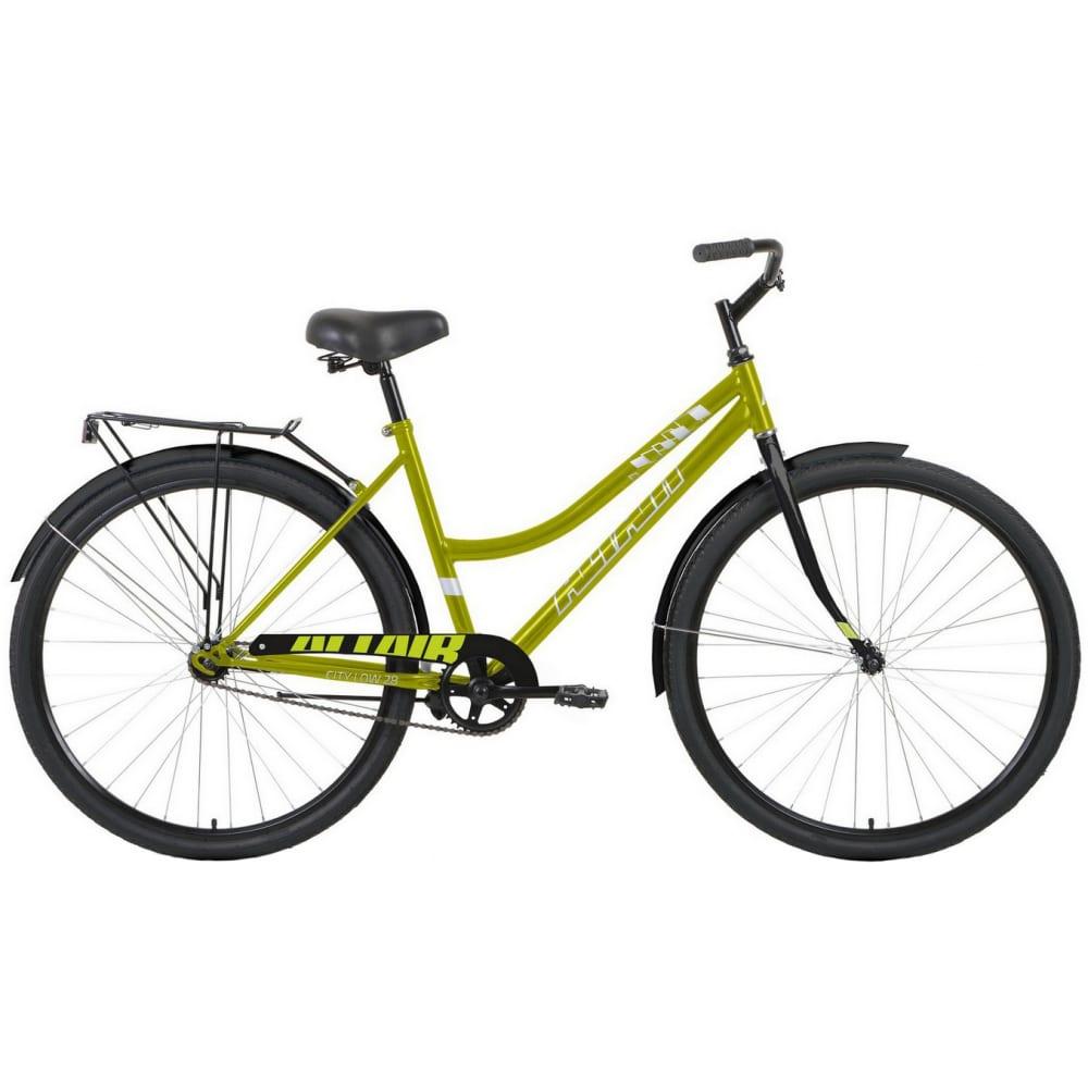 Велосипед altair 28 low зеленый/черный rbkt1yn81009