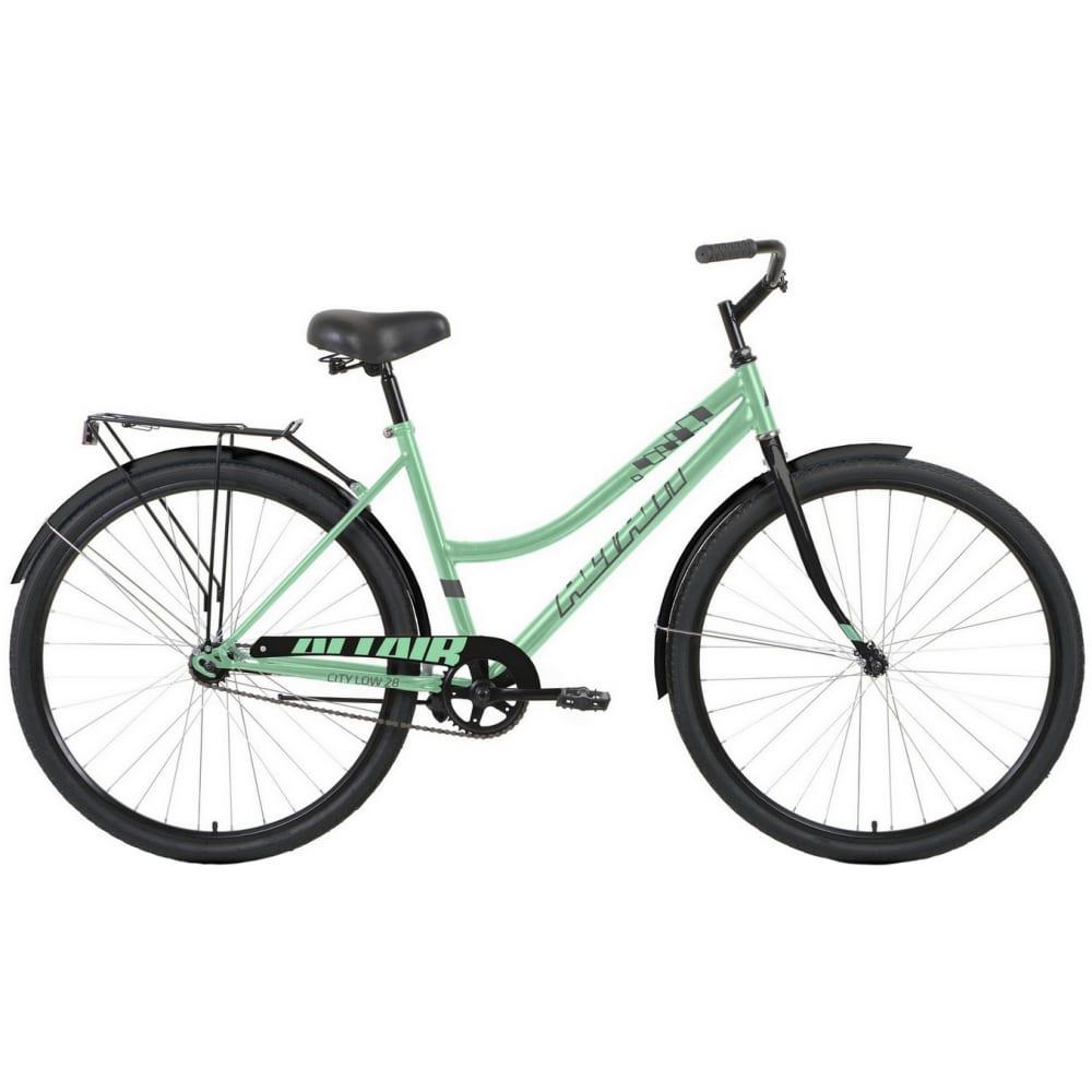 Велосипед altair 28 low мятный/черный rbkt1yn81011