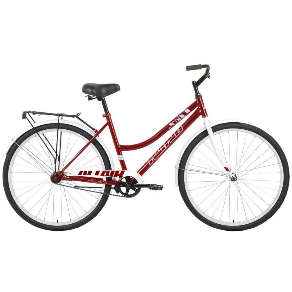 Велосипед altair 28 low темно красный/белый rbkt1yn81008