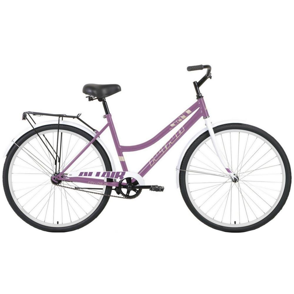 Велосипед altair 28 low фиолетовый/белый rbkt1yn81012