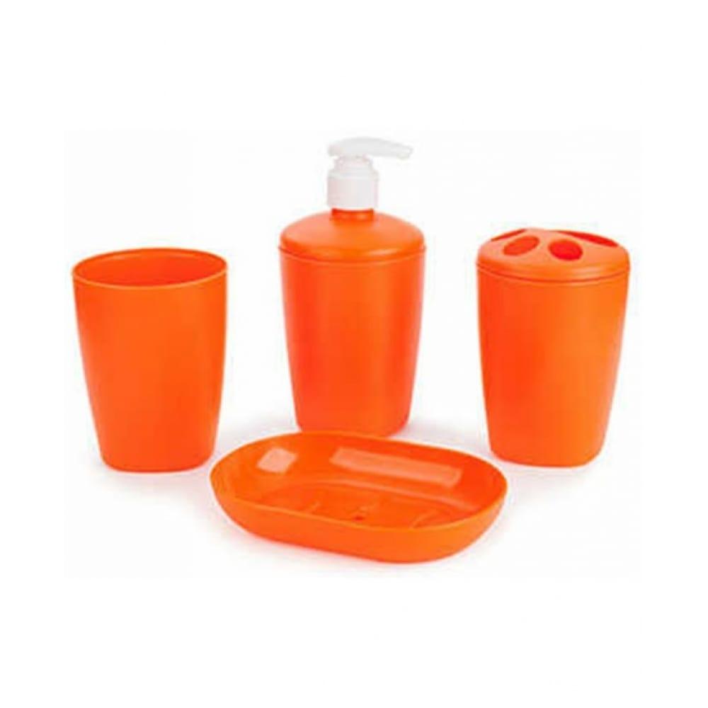 Купить Набор аксессуаров для ванной комнаты berossi aqua мандарин ас 22140000